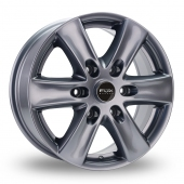 Fox Racing Viper Van 2 Grey Alloy Wheels