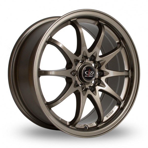 "Picture of 17"" Rota Fight Bronze Wider Rear"