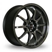 Rota Fight Hyper Black Alloy Wheels