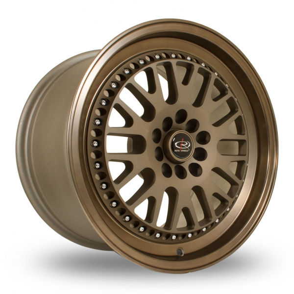 "Picture of 15"" Rota Flush Bronze Wider Rear"