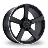 FOX MS003 BLACK Alloy Wheels