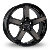 Fox Racing Viper Black Alloy Wheels