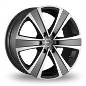 MAK Fuoco 6 Ice Titan Alloy Wheels