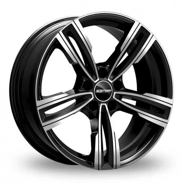 """Picture of 18"""" GMP Italia Reven Black/Polished Wider Rear"""
