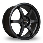Rota GR6 Black Alloy Wheels
