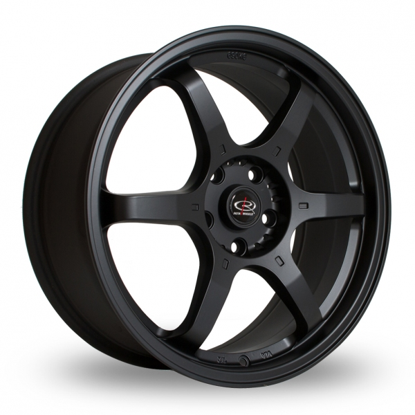 "Picture of 18"" Rota GR6 Black"