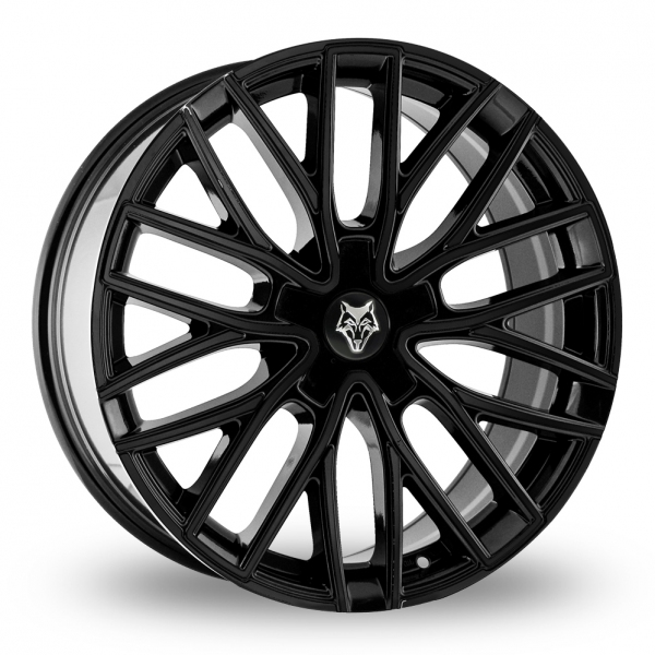 """Picture of 20"""" Wolf Design GTP Gloss Black"""