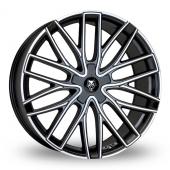 Wolf Design Wolf Design GTP Matt Black Alloy Wheels