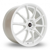 Rota GRA White Alloy Wheels