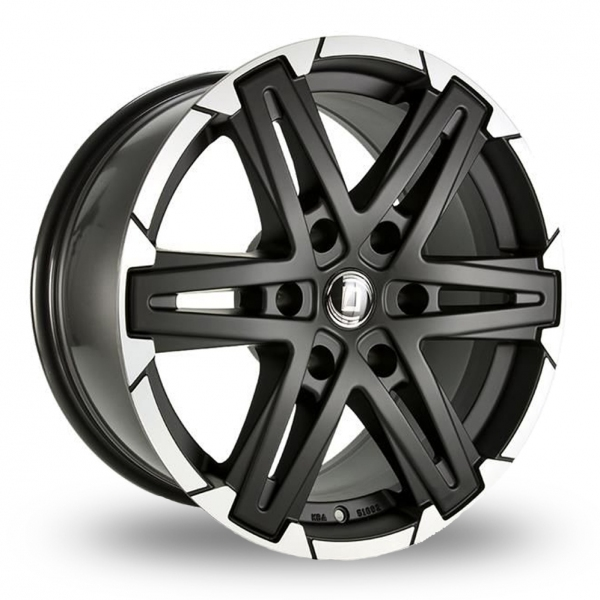 Diewe Grezzo Black Polished Rim