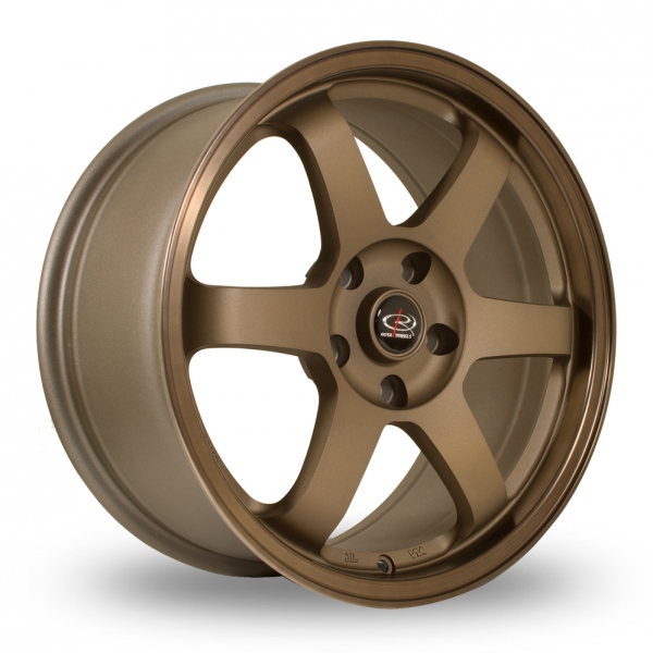 "Picture of 17"" Rota Grid2 Bronze"