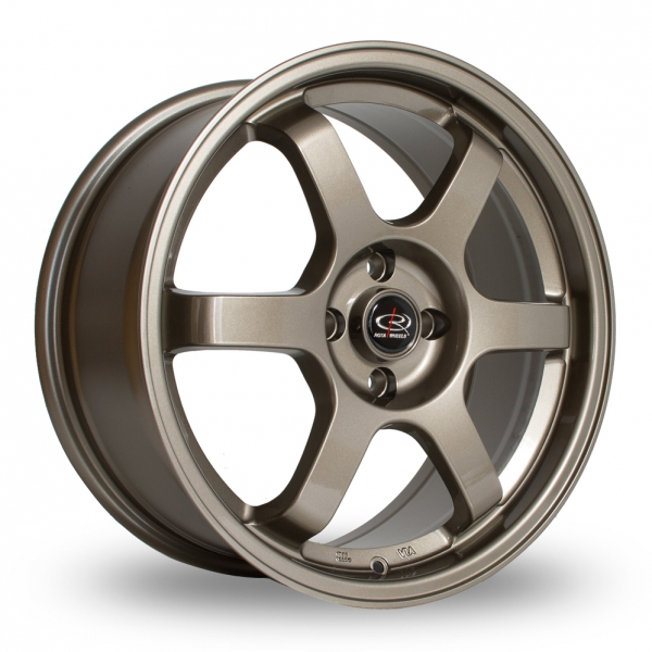 "Picture of 17"" Rota Grid Bronze Wider Rear"