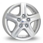 Alutec Grip (Transporter) Silver Alloy Wheels