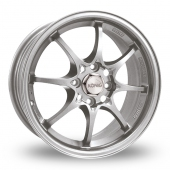 Konig Helium Silver Alloy Wheels