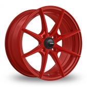 Konig Helium Red Alloy Wheels