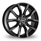 MAK Highlands Matt Black Alloy Wheels