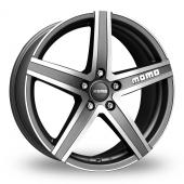Momo Hyperstar Evo Anthracite Polished Alloy Wheels