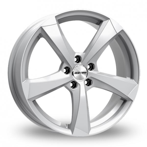 """17"""" GMP Italia Ican Silver Alloy Wheels"""