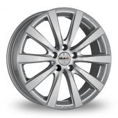 MAK Iguan Hyper Silver Alloy Wheels