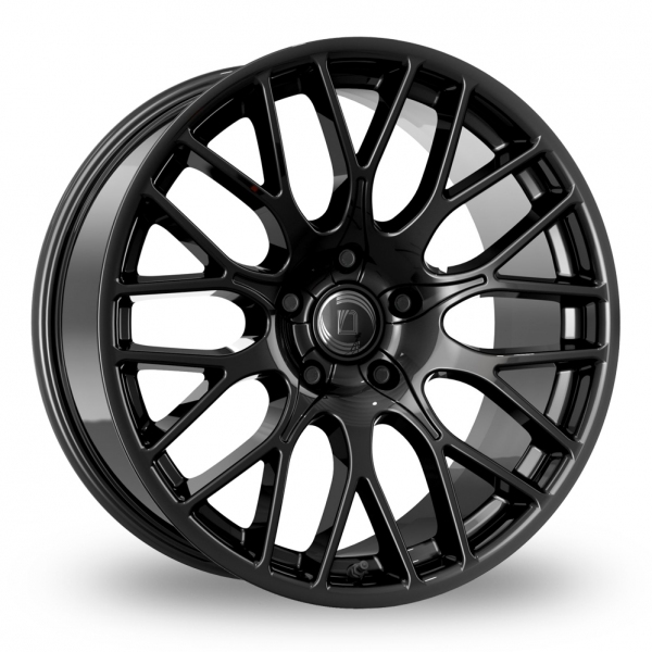 "22"" Diewe Impatto Black Alloy Wheels"
