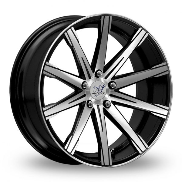 "Picture of 19"" Inovit Revolve Black/Polished Wider Rear"