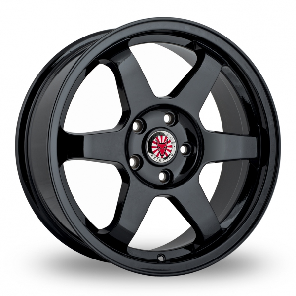 "Picture of 18"" Wolfrace JDM Satin Black"