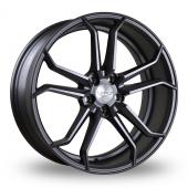 Judd T502 Matt Gun Metal Alloy Wheels