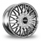 Ronal LSX Silver Polished Alloy Wheels