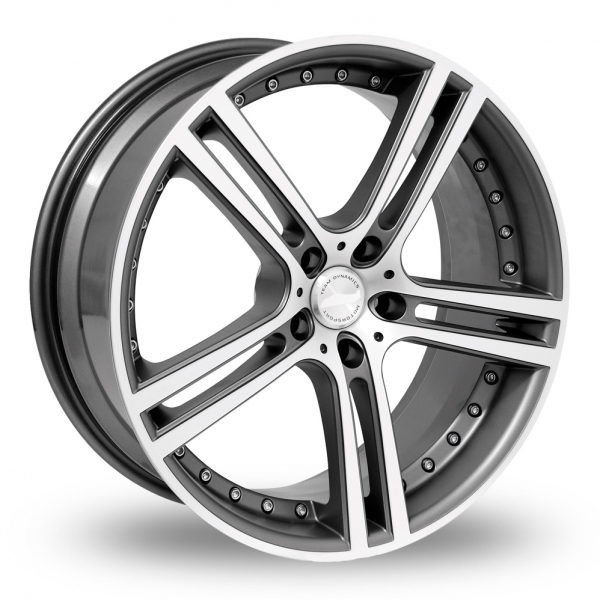 "Picture of 17"" Team Dynamics Le Mans Anthracite"