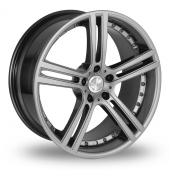 Team Dynamics Le Mans Dusk Silver Alloy Wheels