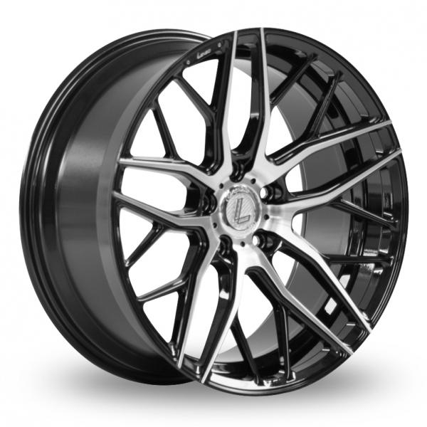 Lenso CQA Wider Rear Black Polished