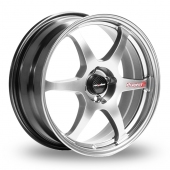 Lenso Spec C Hyper Silver Alloy Wheels