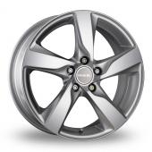 MAK Gburg Silver Alloy Wheels