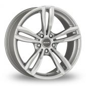 MAK Luft Silver Alloy Wheels