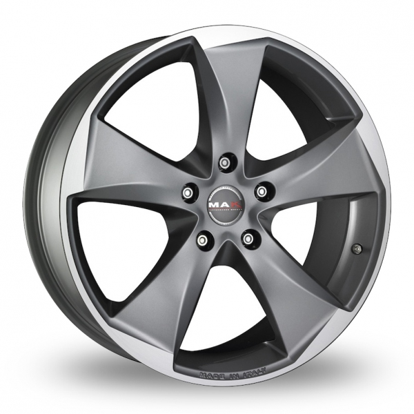 "Picture of 18"" MAK Raptor 5 Graphite Mirror Face Wider Rear"