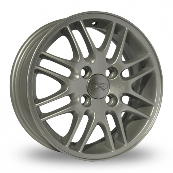 Ford Focus Wheels >> Refurbished Ford Focus Mk1 Twin 8 Spoke Silver Alloy Wheels