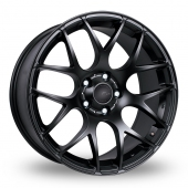 Fox Racing MS007 Matt Black Alloy Wheels