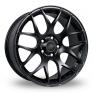18 Inch Fox Racing MS007 Matt Black Alloy Wheels
