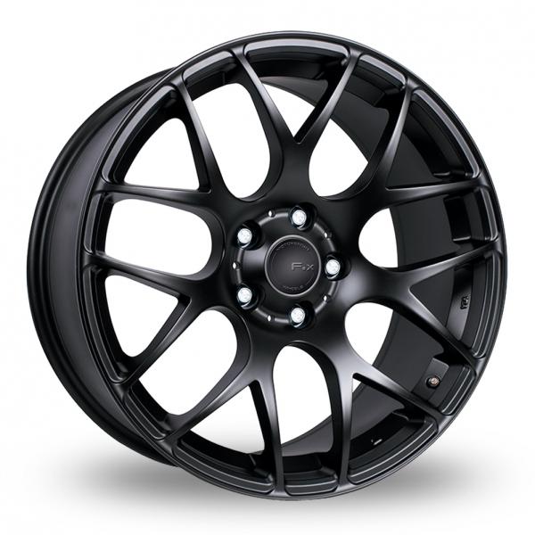 """19"""" Fox MS007 Matt Black Wider Rear Alloy Wheels"""