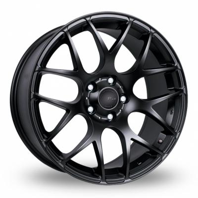 20 Inch Fox Racing MS007 Matt Black Alloy Wheels