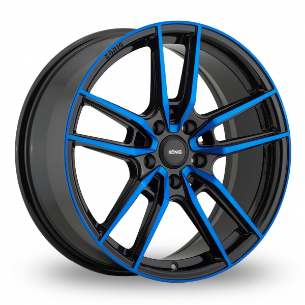 Konig Myth Gloss Black W/ Blue Tinted Clearcoat