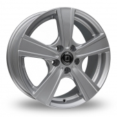 Diewe Matto Silver Alloy Wheels