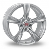 Mille Miglia 033 Silver Alloy Wheels