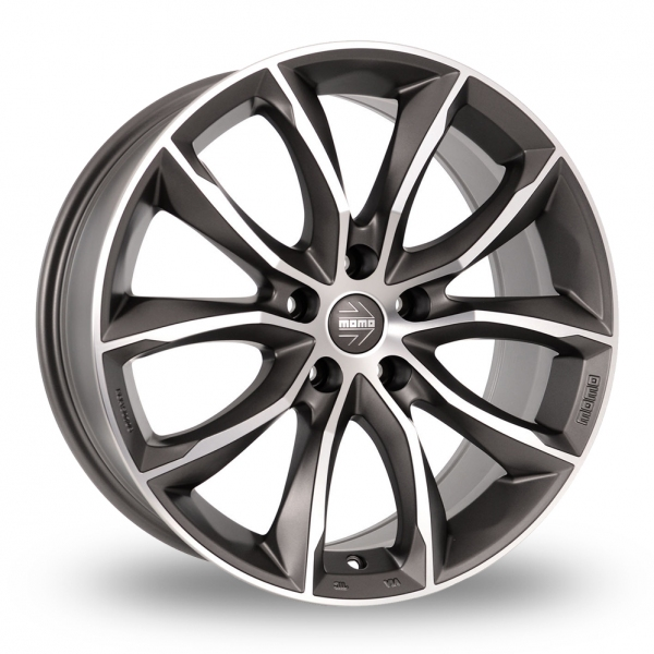 "Picture of 18"" MOMO Screamjet Evo Anthracite/Polished"