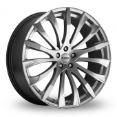 Momo Sting Hyper Silver Alloy Wheels