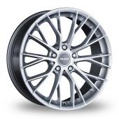 MAK Munchen Silver Alloy Wheels