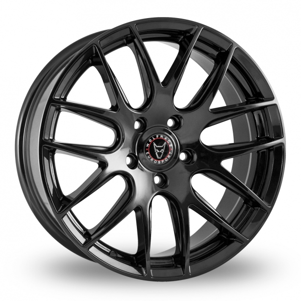 "Picture of 18"" Wolfrace Munich Gloss Black"