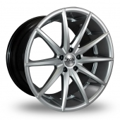 AVA New York Hyper Silver Alloy Wheels