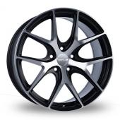 Novus 1 Black Polished Alloy Wheels