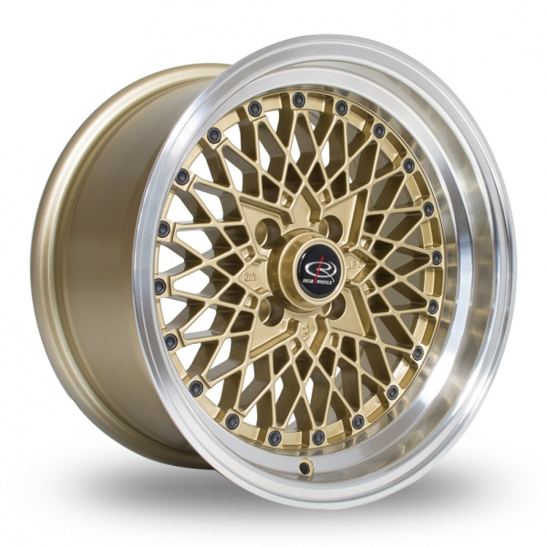 Rota OS Mesh Gold Polished Lip